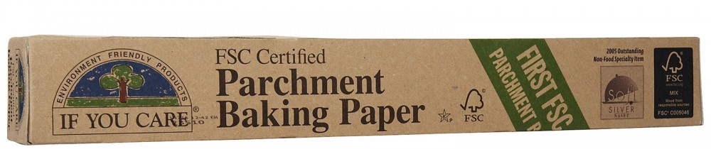 unbleached parchment paper -if you care brand